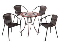 Set sillas y mesa mosaico modelo MONTREAL/EDIR