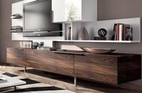 Mueble de TV efecto madera 3
