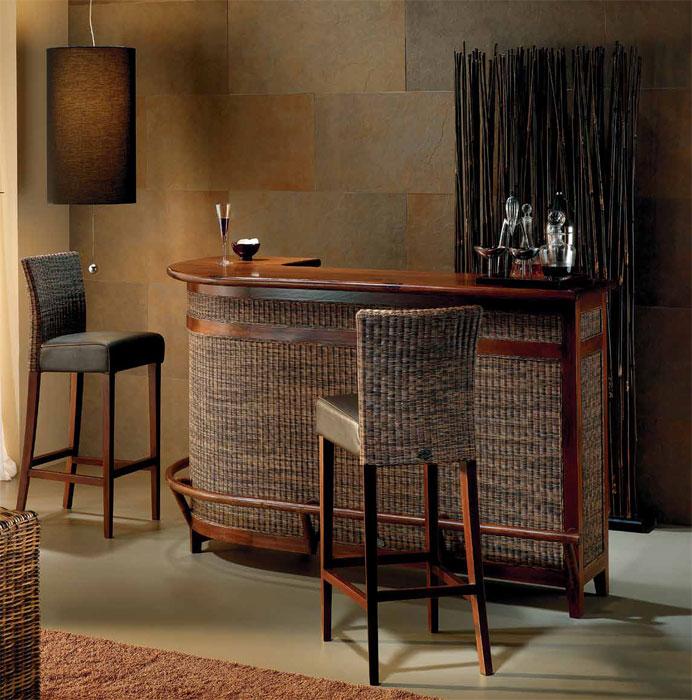 Mueble bar y taburete modelo MINESSOTA  Mueble bar y taburete modelo