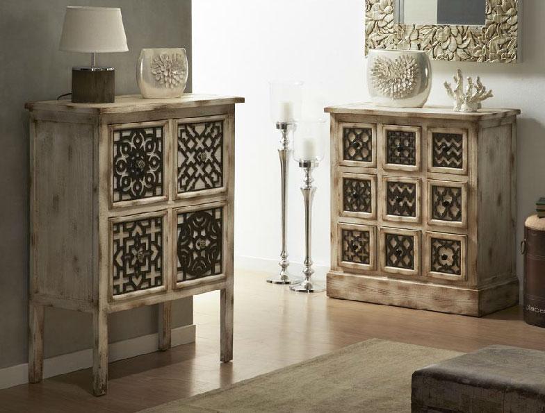 Muebles asiaticos auxiliares for Muebles auxiliares clasicos madera