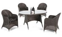 Set de sillones y mesa modelo NAZUL