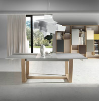 Mesa de comedor Nut - Mesa de comedor Nut moderna