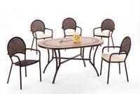 Set sillas y mesa mosaico modelo OASIS