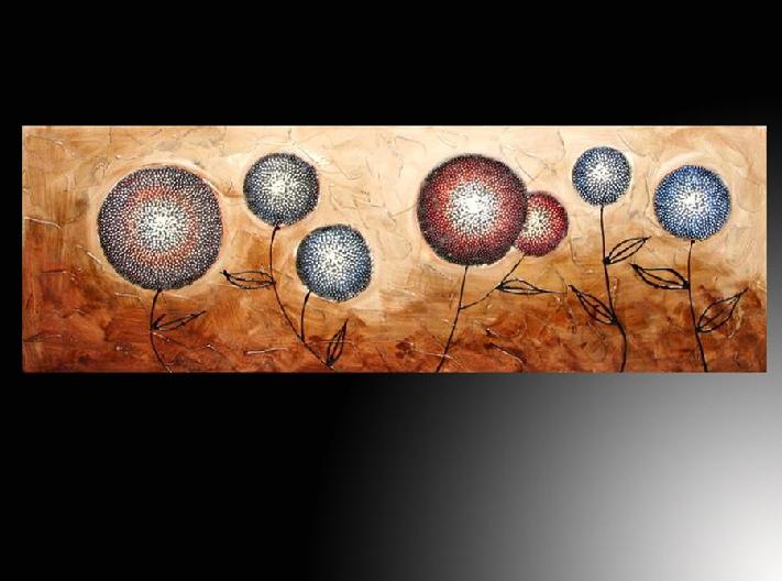 Oleos flores modernos imagui for Cuadros horizontales modernos