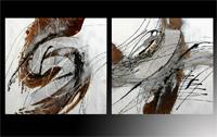 Set de dos cuadros oleo 4