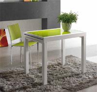Mesa extensible para cocina o salón pequeño OREGON