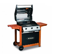 Barbacoa a gas Outback modelo HUNTER INOX