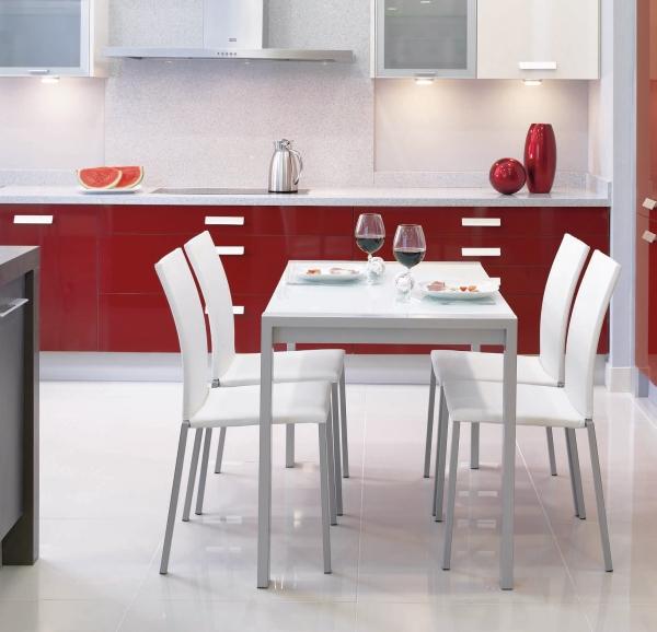 Pack mesa alba y sillas yuki cocina y office mesas y for Precios de mesas de cocina