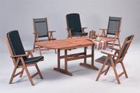 Set sillas y mesa madera modelo PALAWAN