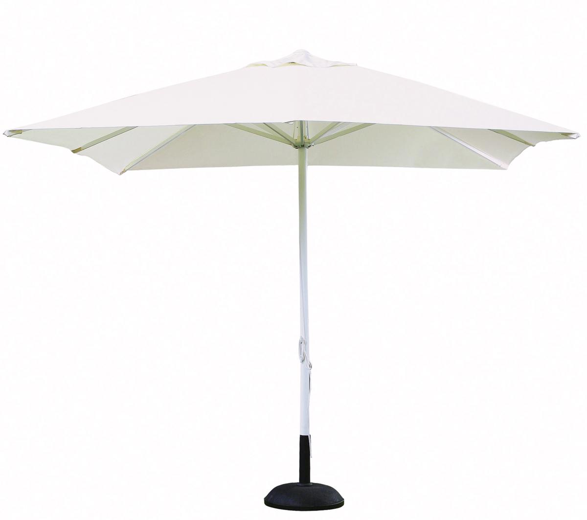 recambio tela de parasol cuadrado blanco verde