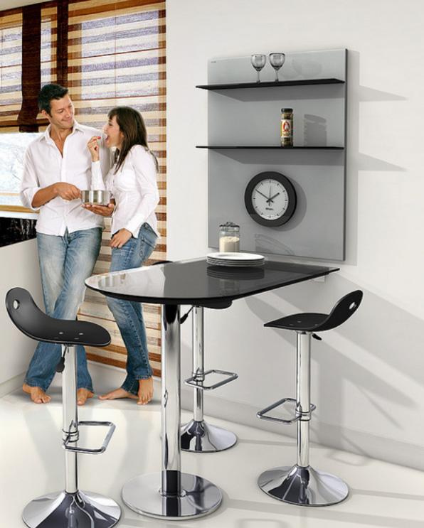 Mesa y plaf n cocina y office mesas y sillas de cocina - Baldas para cocina ...