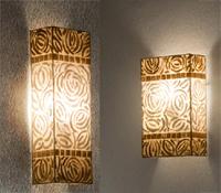 Lámpara aplique Nacar rectangular 2