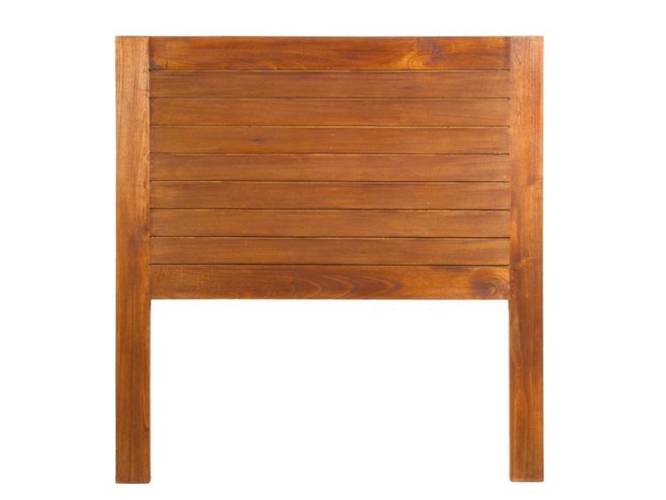 Cabezal de cama de madera de mindi - Cabezal de madera ...