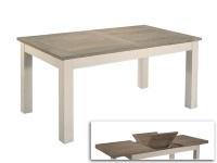Mesa extensible beige - Mesa de comedor extensible color beige