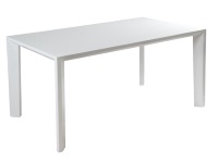 Mesa de comedor blanca - Mesa de comedor blanca lacada