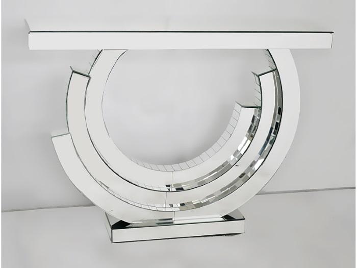 Recibidor moderno de espejo for Espejos recibidor de diseno