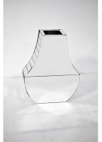 Jarrón moderno de espejo - Jarrón con diseño moderno de espejo