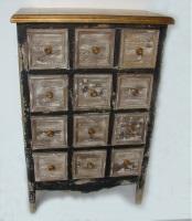 Mueble con 12 cajones