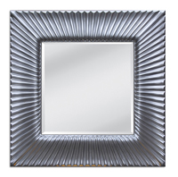 Espejo marco plata 1