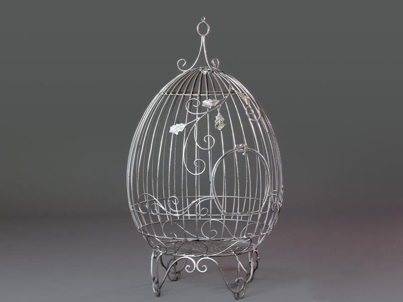 Peque as jaulas decorativas de forja y metal decoraci n y - Jaulas decorativas zara home ...