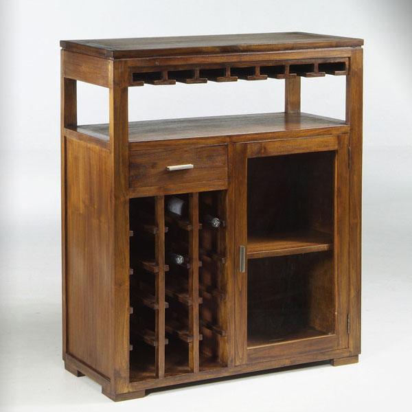 Mueble bar estilo colonial elegante - El mueble colonial ...