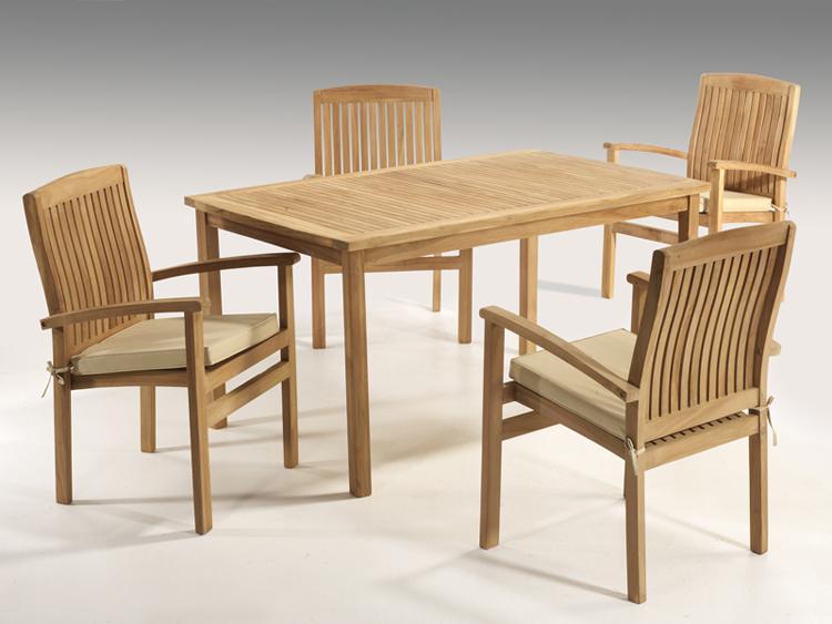 Guardar los muebles de jard n en invierno - Muebles de teca para jardin ...