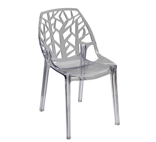 Silla turin ramas muebles de comedor muebles de interior for Sillas metacrilato