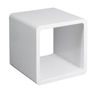 Asiento forma cubo hueco - Disponible en colores púrpura y blanco