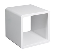 Asiento forma cubo hueco