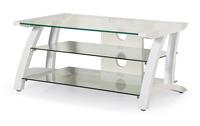 Mesa TV 3 estantes cristal - Diseño moderno y llamativo
