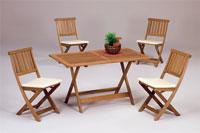 Set sillas y mesa madera modelo PRINCES