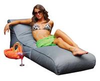 Puff sillón para exterior tipo tumbona modelo EVO convertible