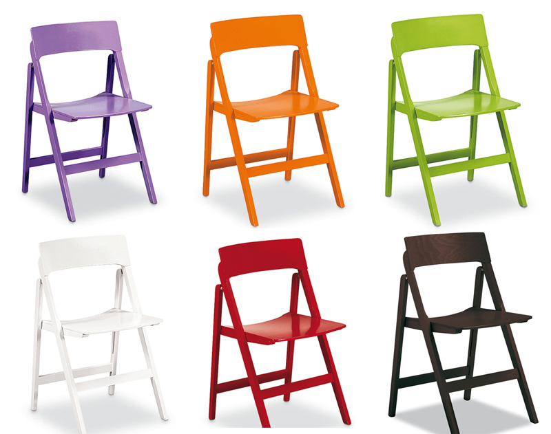 Silla de madera plegable relax cocina y office mesas y for Sillas modernas de colores