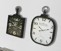 Reloj de pared IMO metal