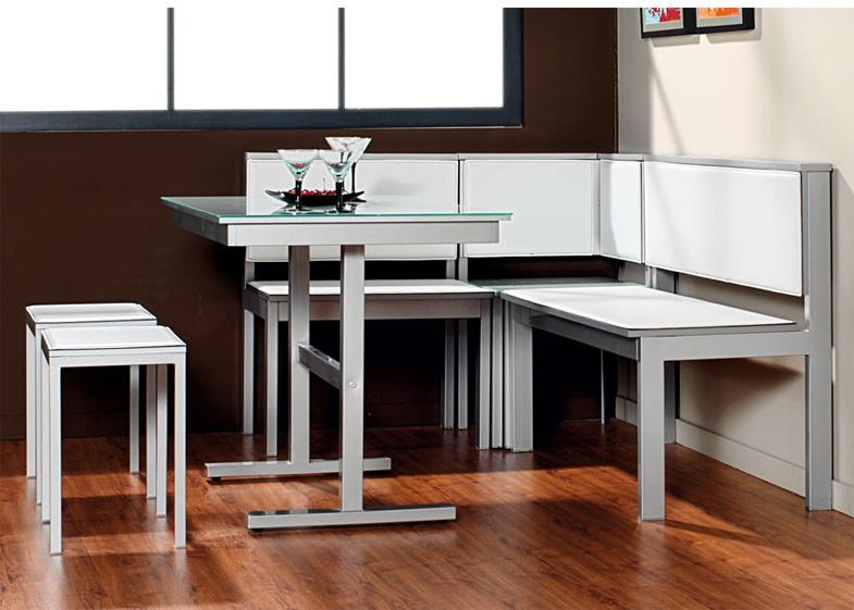 Mueble de rinc n de cocina for Mesas rinconeras de cocina de madera