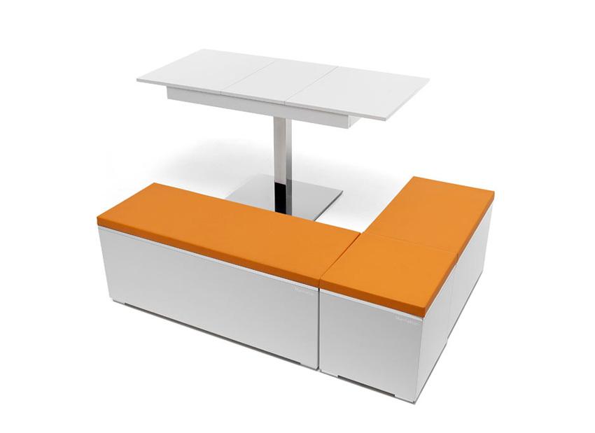 Rinconera para cocina asientos rinconera cocina moderna - Mesas para cocinas modernas ...