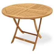 Mesa Sailor Royal Teak Round 120 plegable