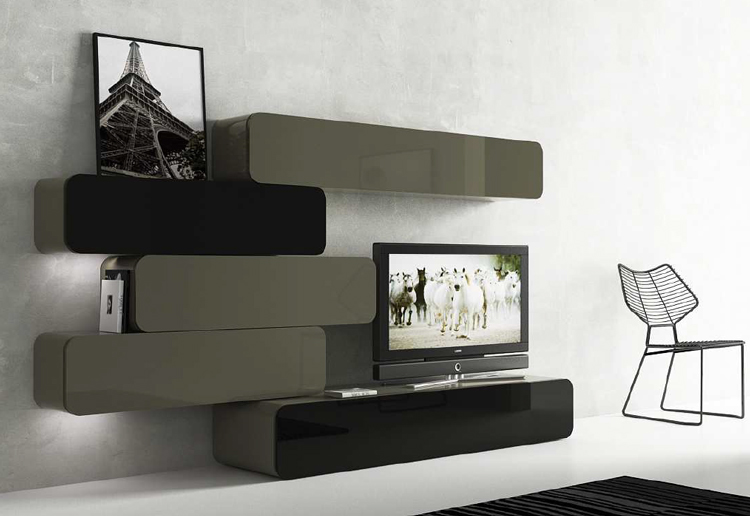 Limpiar los muebles lacados for Muebles salon modulares