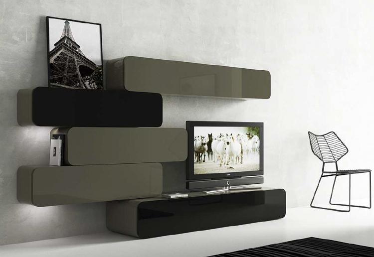 Modulares de sal n retro muebles madrid muebles arganda - Muebles salon modulares ...