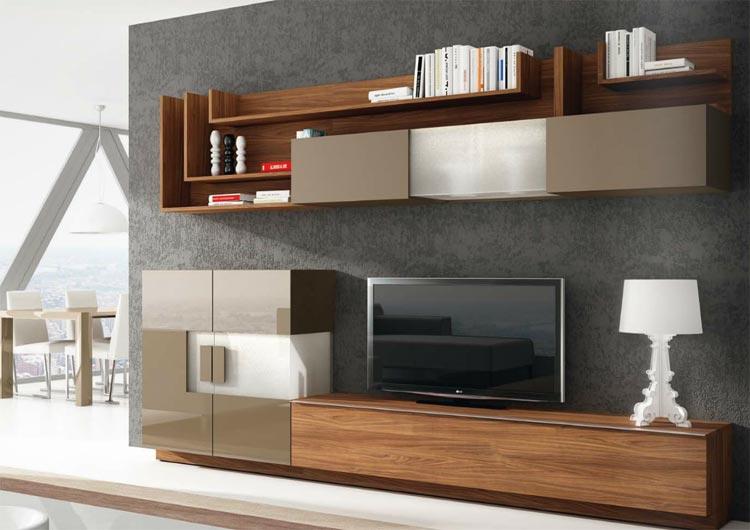 Manresa salones modernos for Salones de madera modernos