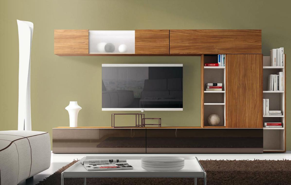 Sal n modular moderno 123 muebles de interior muebles for Muebles modulares salon modernos