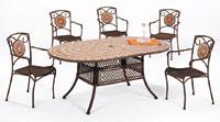 Set sillas y mesa mosaico modelo SANMARINO