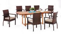 Set sillas y mesa madera modelo SANVIO2