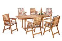 Set sillas y mesa madera modelo SANVIO