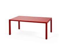 Mesa baja rectangular - Mesa multiusos, baja, polipropileno, 6 colores a elegir. Vea todos los colores en el interior.