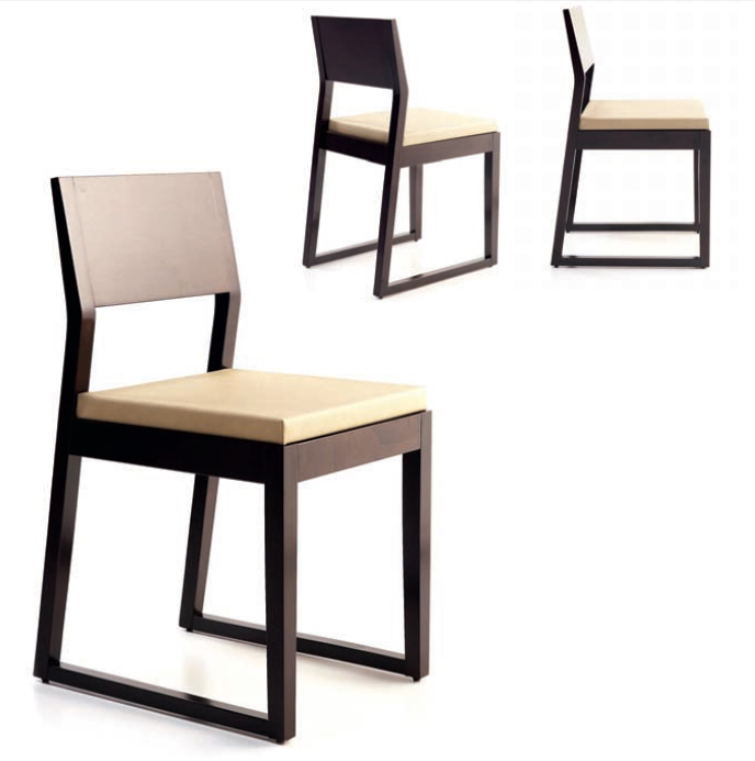 Silla madera moderna free interesting perfect silla de for Sillas de comedor modernas en madera