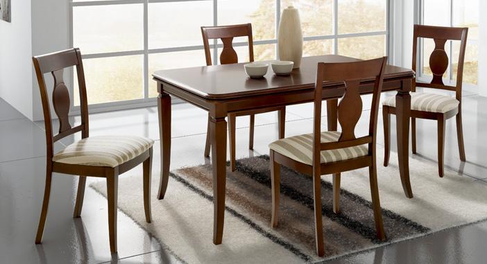 Silla de comedor tapizada 27 muebles de comedor muebles for Sillas comedor clasicas tapizadas
