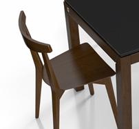 Silla ocean de madera - Silla Moderna de madera
