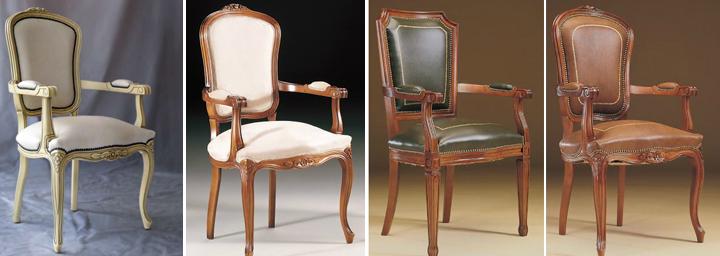 Sillas cl sicas de estilo diferentes estilos y acabados for Sillas clasicas modernas