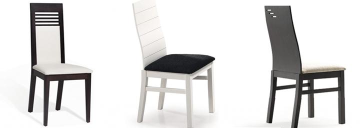 Sillas de madera dise o moderno para comedor salon cocina for Sillas salon modernas